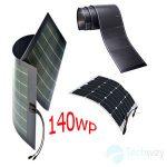 tấm pin năng lượng mặt trời dẻo 140w