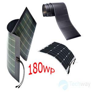 tấm pin năng lượng mặt trời dẻo 180w