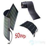 Tấm pin năng lượng mặt trời dẻo 50w