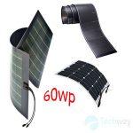 tấm pin năng lượng mặt trời dẻo 60w