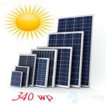 tấm pin mặt trời 340w