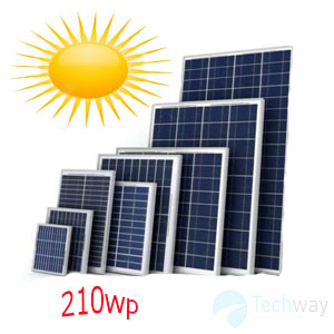tấm pin năng lượng mặt trời 210w mono