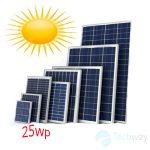 tấm pin năng lượng mặt trời 25w mono
