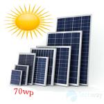 tấm pin năng lượng mặt trời mono 70w