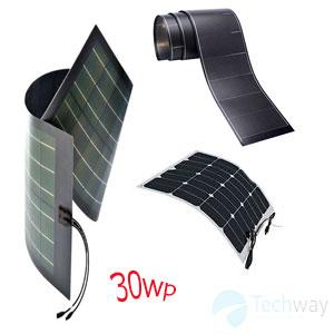 tấm pin năng lượng mặt trời dẻo 30w