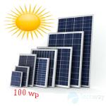 tấm pin năng lượng mặt trời mono 100w