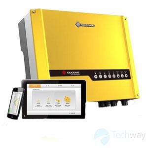 Bộ hòa lưới điện mặt trời Hybrid on Grid 5KW (GW5048D-ES )