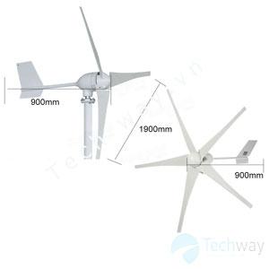 Máy phát điện gió mini 600w