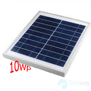 Tấm pin năng lượng mặt trời 10e ( poly )