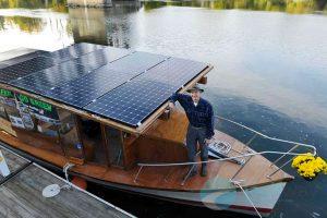 giải pháp điện mặt trời cho tàu thuyền