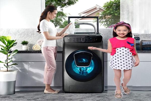 Máy giặt sấy giải pháp tiết kiệm điện