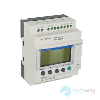 Relay lập trình Schneider SR2B121FU