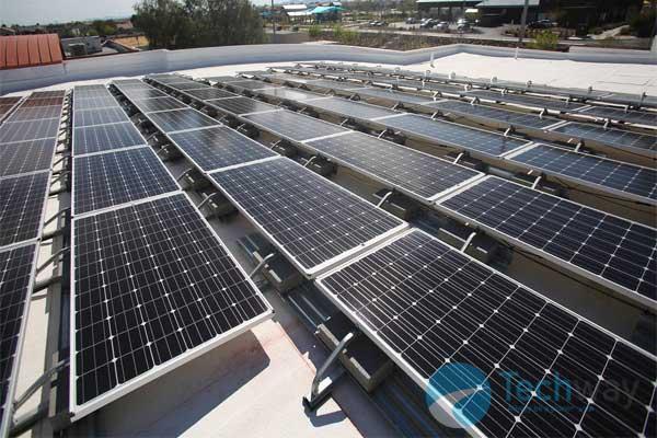Điện mặt trời cho trường học 1
