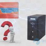 phân biệt ups và máy kích điện