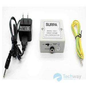 Máy đo tĩnh điện vòng đeo tay Surpa 518
